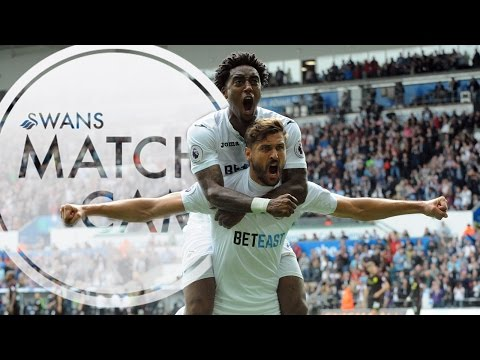 Swans TV - Match Cam: Manchester City visit the Liberty Stadium