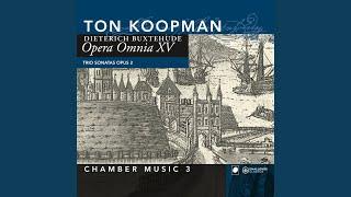 Trio sonatas opus 2: Sonata in g op.2 nr. 3 BuxWV 261