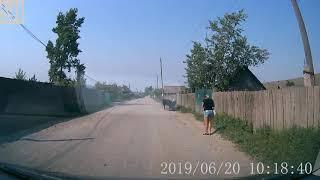 Chegaralariga dan yo'lni qum ta'mirlash: qishloq Kokuy, Transbaikalia