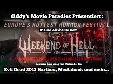 """Weekend of Hell in Dortmund 2017 """"Exklusive"""" Evil Dead Hartbox, Mediabook und mehr...Meine Ausbeute"""