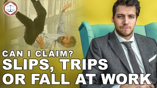 Slips, trips or fall Accident At Work In The UK  Can I Claim Compensation