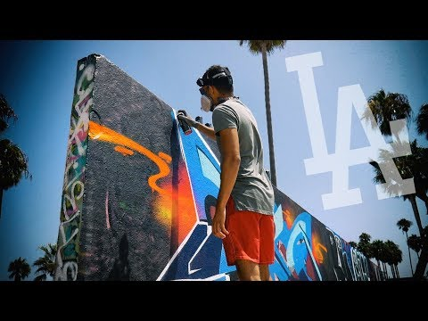 Painting THE MOST Famous WALL