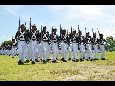 PMMA Philippine Merchant Marine Academy Pass In Review 1999