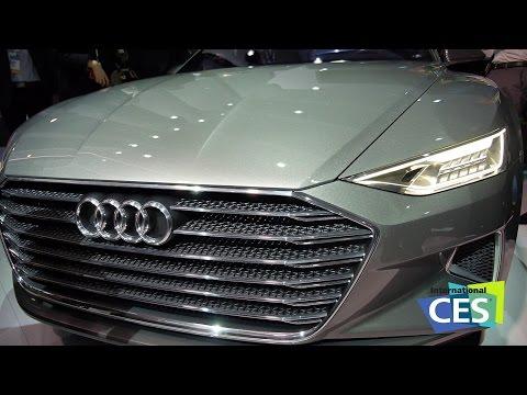 CES 2015: Audi Prologue fährt alleine zur CES, Q7 bekommt zwei Tablets