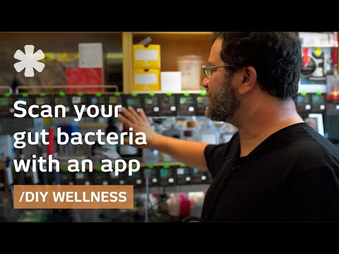 """Quantified """"selves"""": a smartphone tool to meet your microbes"""