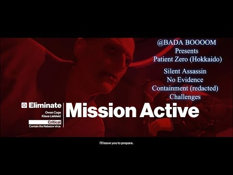 HITMAN: Patient Zero (Hokkaido) - Silent Assassin, No Evidence & Containment Challenges