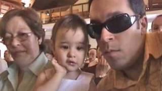 Batizado Luka Viana, Malu e Victor