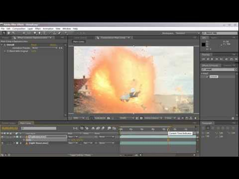 AE: Removing The Black Background From Video Footage Using Unmult