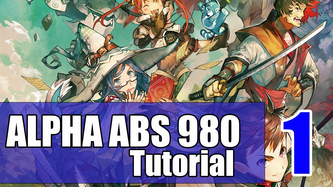 RPG Maker MV Alpha ABS Tutorial EP1: Installation and configuration