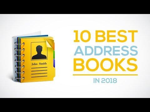 10 best address books in 2018 youtube