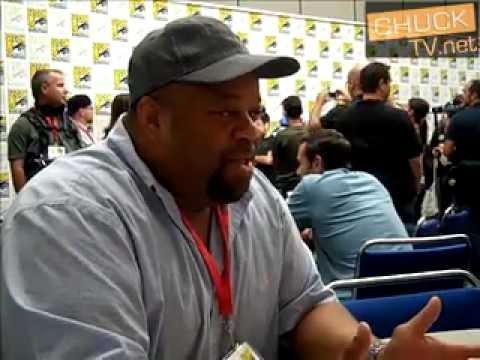 ChuckTV.net Interviews Mark Christopher Lawrence at Comic Con 2009