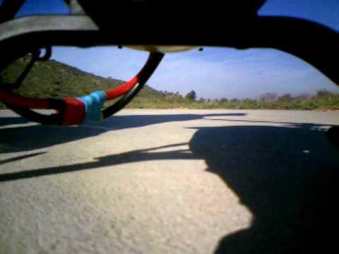 Onboard Video T-Rex 600 ESP, aerobatic flight over Condor Field in Camarillo, CA