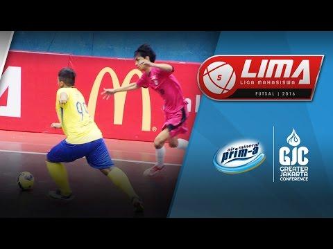 LIMA Futsal Air Mineral Prim-A GJC Season 4: USAKTI vs STIE BP (Men's)