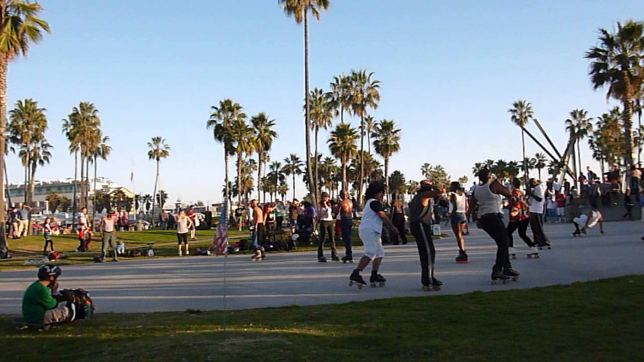Venice Beach California Rollerskating