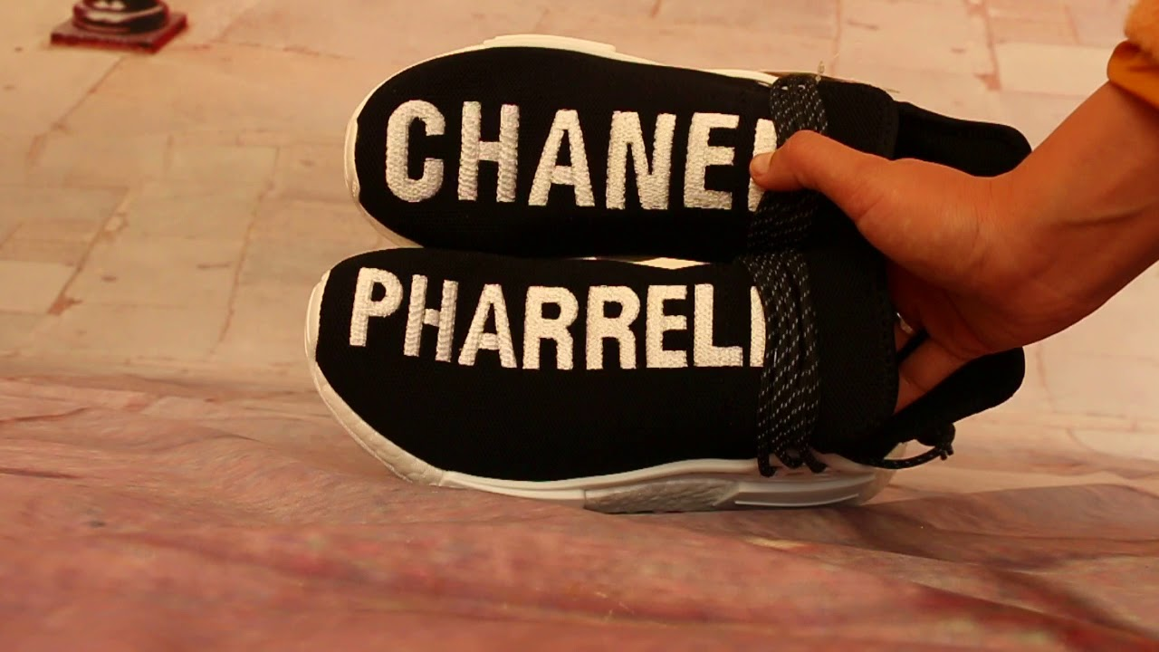 6eff49fc50d1b How Pharrell Chanel Adidas NMD Human Race HD Review. flightclub beety