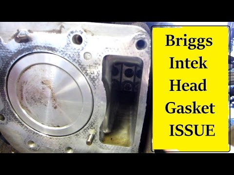 Briggs Intek Head Gasket Symptoms