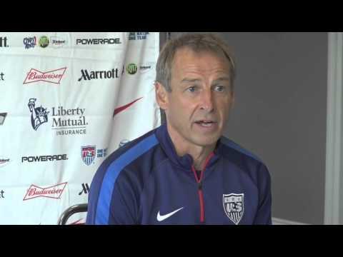 Jurgen Klinsmann speaks ahead of facing Trinidad and Tobago in Port of Spain