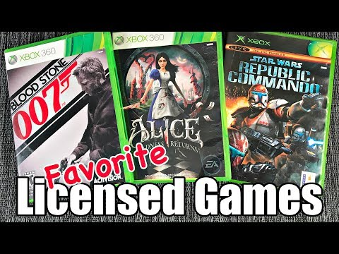 Favorite LICENSED GAMES: TV, Books & Movie HIDDEN GEMS - Metal Jesus Crew ANSWERS!