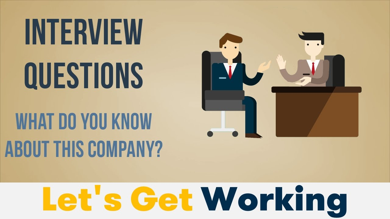 Interview Questions: What Do You Know About This Company?