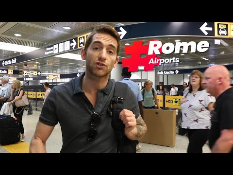 BEST ways to get to ROME from the AIRPORTS (FCO & CIA)