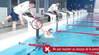 Epreuves sportives du Concours externes de caporal 2018 : Natation 50 m nage libre