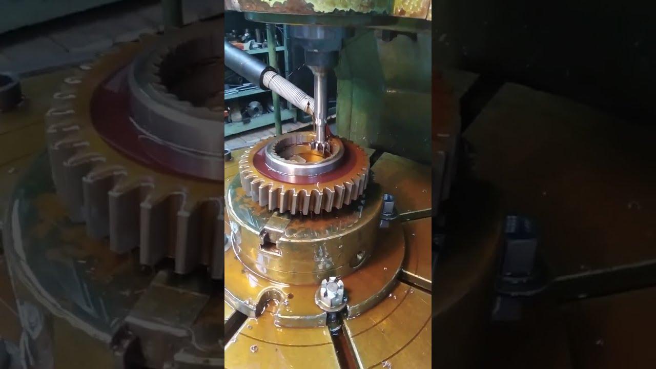 Изготовление шестерни
