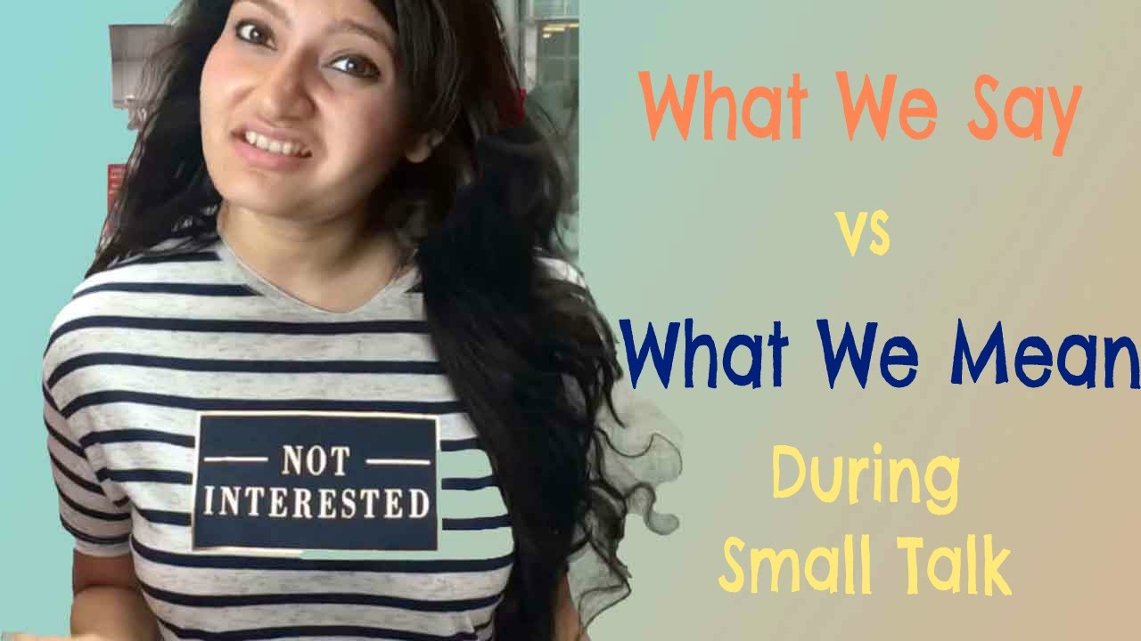 what is small talk mean
