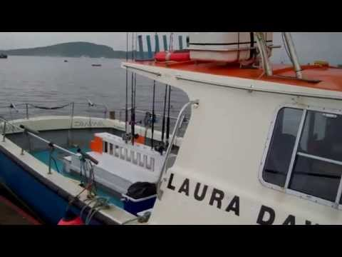 Oban July 2nd 2015 Laura Dawn 2 with Skipper Ronnie Campbell