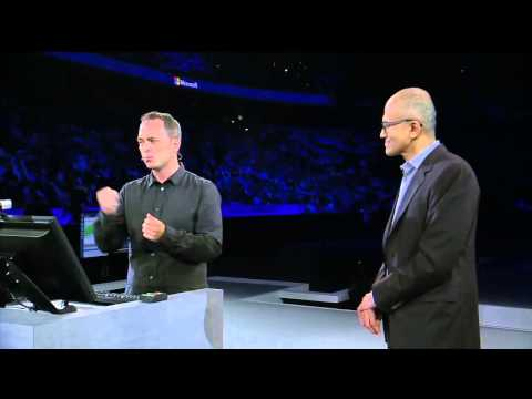 Satya Nadella highlights CGI Innovation with Internet of Thi
