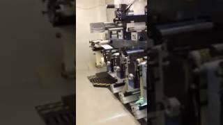видео Тканные этикетки в рулоне