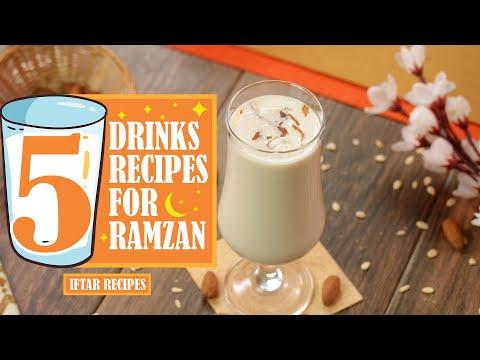 5 Best Drinks for Ramzan By SooperChef (Ramdan Recipes)