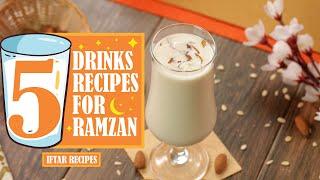 5 Best Drinks for Ramzan By SooperChef (Ramzan Recipes)