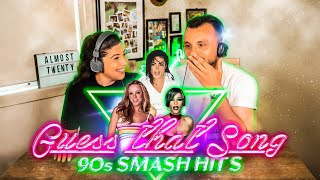 90s KIDS GUESS 90s MUSIC!
