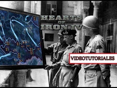 Plantillas de división y combates Videotutorial Hearts of Iron IV