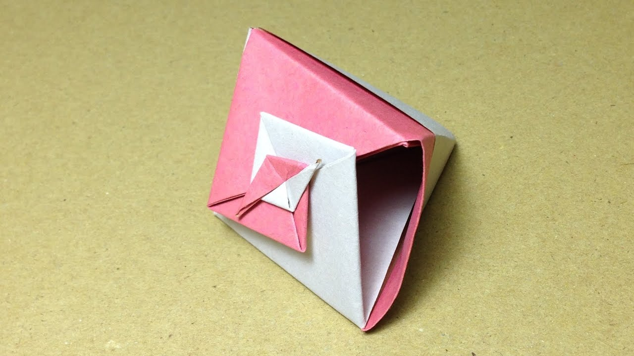 ... 作り方 二色折り 実用 入れ物 : 折り紙 入れ物 作り方 : 折り紙