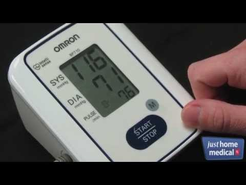 just-home-medical:-omron-3-series-upper-arm-blood-pressure-monitor