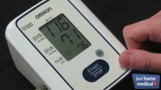 Just Home Medical: Omron 3 Series Upper Arm Blood Pressure Monitor