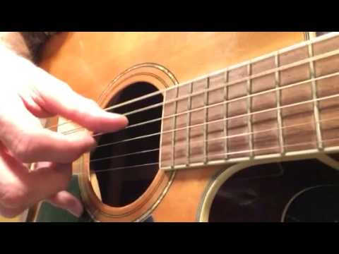 Dear Prudence Introduction guitar fingerpicking