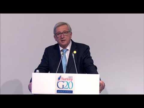 Juncker on how EU should react to Paris attacks