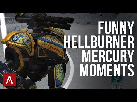 Funny Beacon Rush Game - Funny Hellburner + Mercury Moments | War Robots