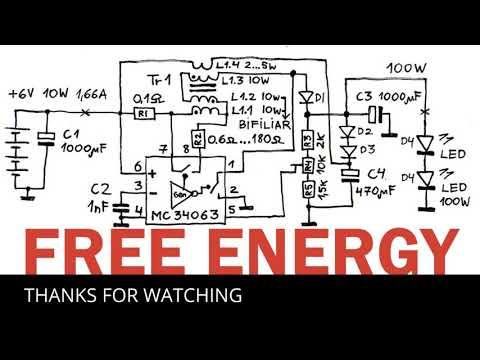 FREE ENERGY 100% WORKING DIAGRAM