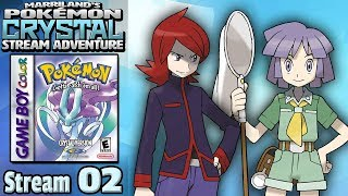 Marriland's Pokémon Crystal Adventure • Stream #02 • Back with MORE Crystal, LIVE on YouTube! thumbnail
