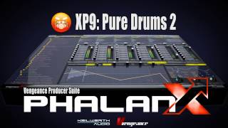 Vengeance Producer Suite - Phalanx XP9: Pure Drums 2 Demo
