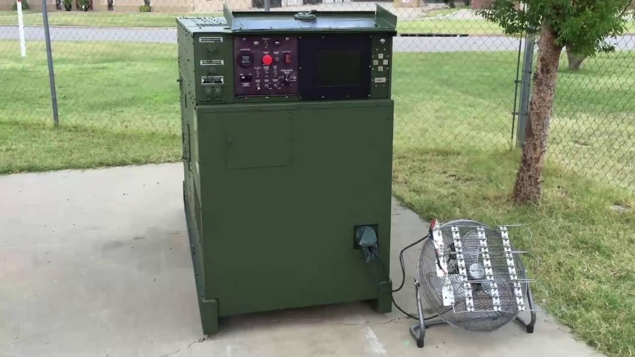 Mep 805b Generator Load Test For Ebay Ad Youtube