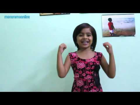 Cute Little Girl Singing Pavakkuttikorumma Malayalam Song   Manorama Online