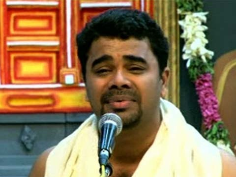 Carnatic Music by Renjith Rajashekaran at Chembai Sangeetholsavam