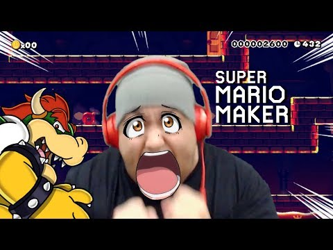 THEY CAN'T BE SERIOUS WITH THIS LEVEL!! [SUPER MARIO MAKER] [#105]