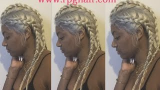 Braids Hairstyle Full Lace Wig by Rpghair.com | 25% Off Sale