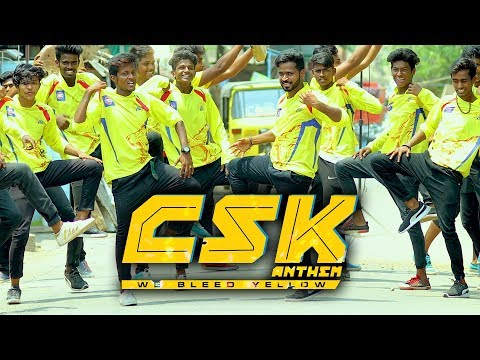 CSK Anthem (We Bleed Yellow) | Official Music Video 4K | SS Music Audio