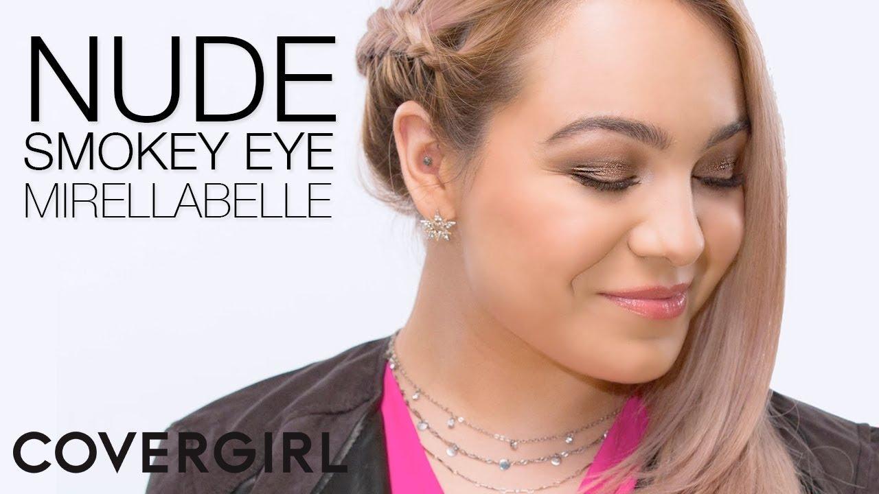 How To Apply Eyeshadow: Nude Smokey Eye Makeup Tutorial  Covergirl